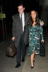 Vicky Pattison and John Noble at Gaucho in London
