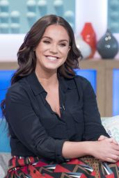 Vicky Pattison - Sunday Brunch TV Show in London