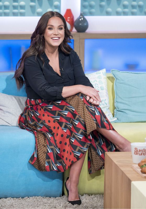 Vicky Pattison - Sunday Brunch TV Show in London