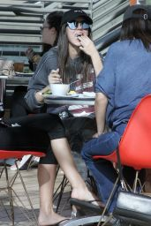 Victoria Justice - Grabs Lunch in Studio City 01/17/2018