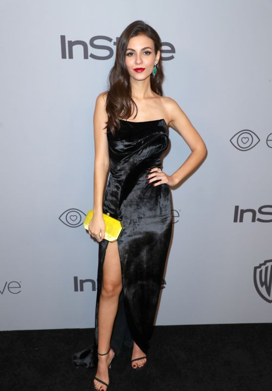 Victoria Justice – InStyle and Warner Bros Golden Globes 2018 After Party