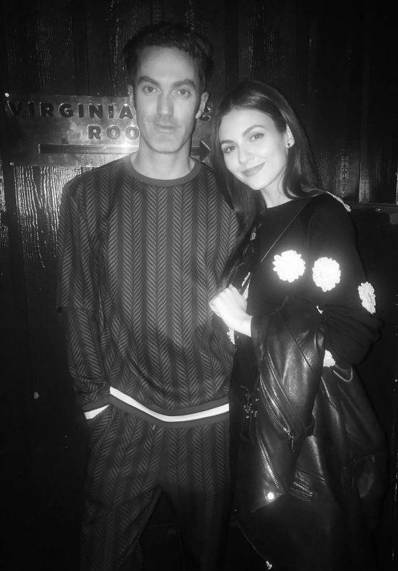 Victoria Justice - Social Media 01/13/2018