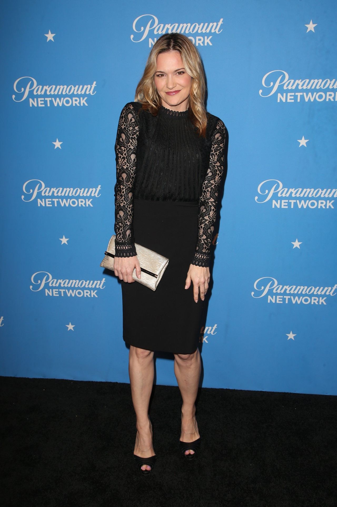Victoria Pratt Paramount Network Launch Party In La