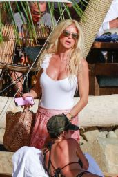 Victoria Silvstedt at Shelona in St Barts