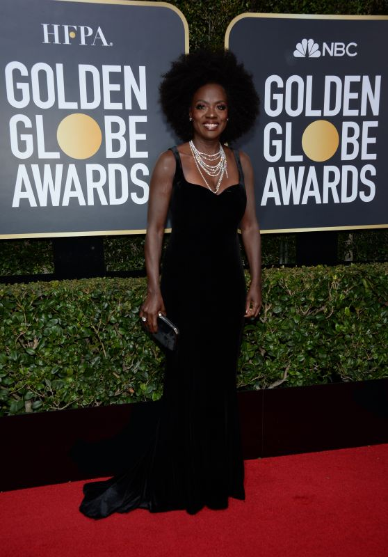Viola Davis – Golden Globe Awards 2018