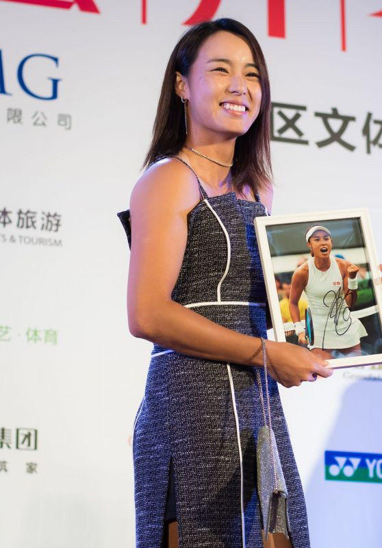 Wang Qiang – Players Party of the 2018 Shenzen Open WTA International Open
