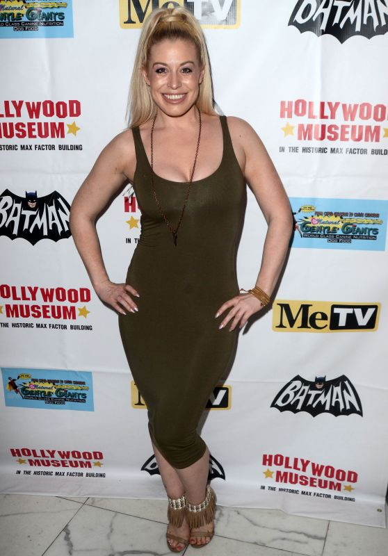 Whitney Bowers - Batman 66 Retrospective and Batman Exhibit Opening Night in LA