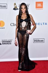 Winnie Harlow – Clive Davis and Recording Academy Pre-Grammy Gala in NYC