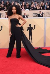 Yara Shahidi – 2018 SAG Awards in LA