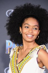 "Yara Shahidi – ""Black Panther"" Premiere in Hollywood"