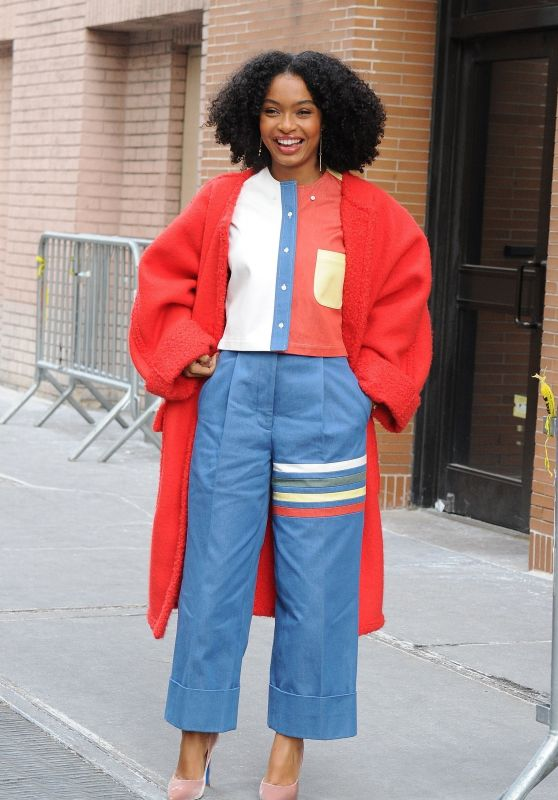 Yara Shahidi Exits The View After an Appearance in NYC
