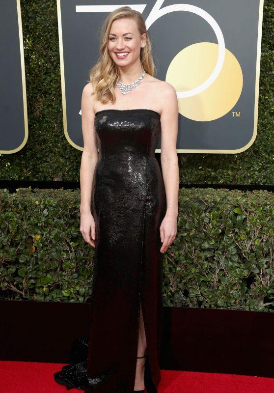 Yvonne Strahovski – Golden Globe Awards 2018