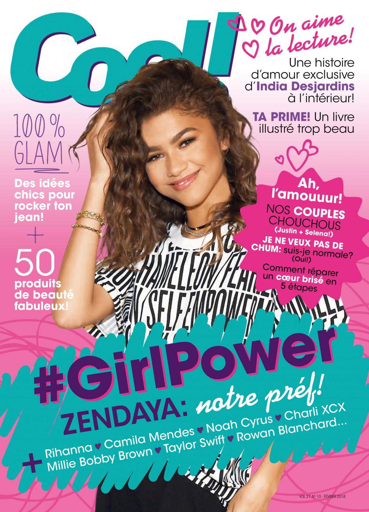 Zendaya Cool Canada February 2018