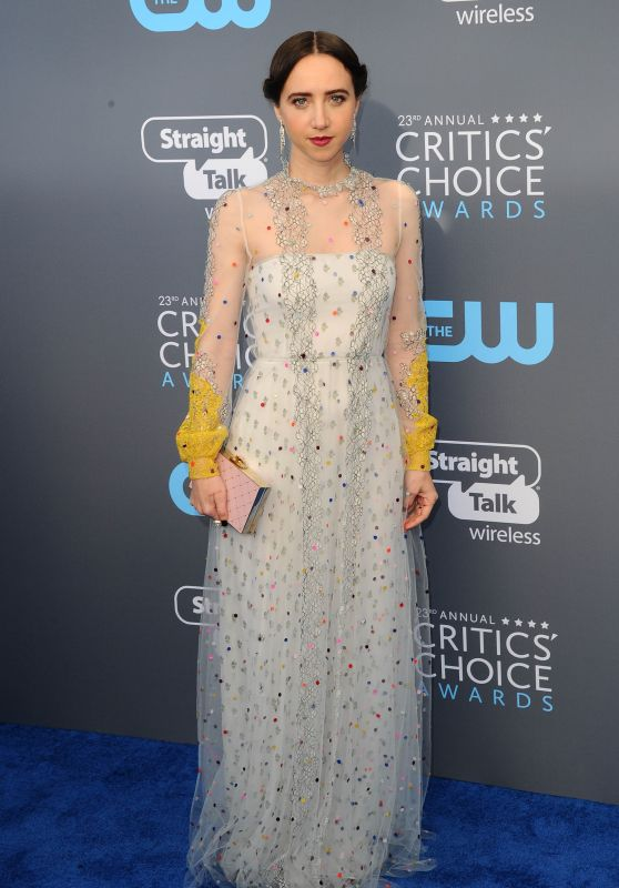 Zoe Kazan – 2018 Critics' Choice Awards