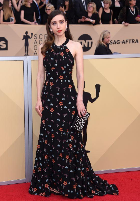 Zoe Kazan – 2018 SAG Awards in LA