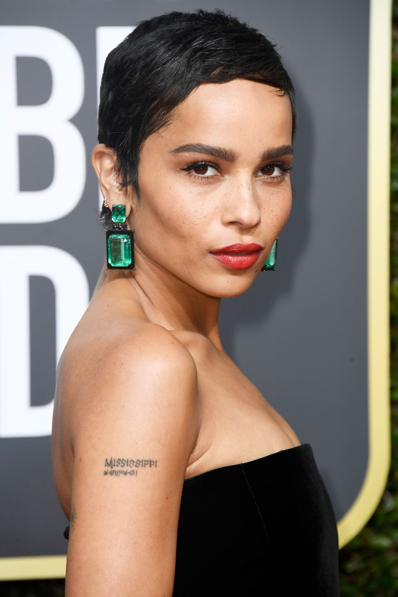 Zoe Kravitz Golden Globe Awards 2018