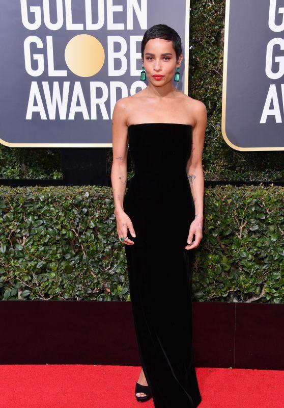 Zoe Kravitz – Golden Globe Awards 2018