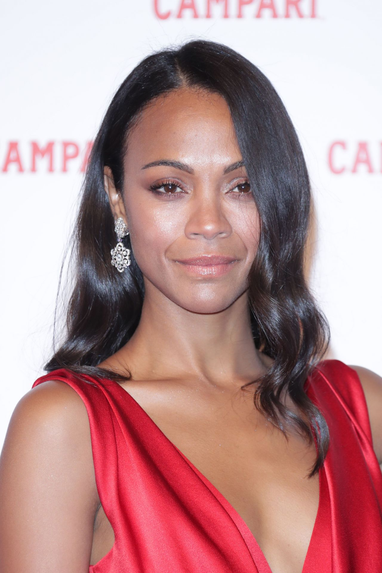 "Zoe Saldana – ""The Legend of Red Hand"" Photocall in Milan Zoe Saldana"