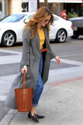 Zoey Deutch Shopping in Beverly Hills