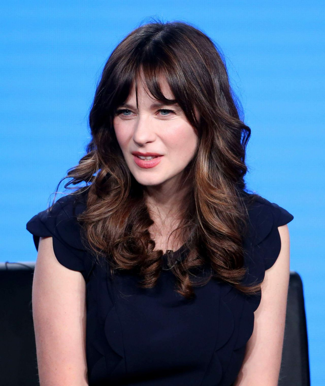 Zooey Deschanel Quot New Girl Quot Tv Show Panel At The Tca