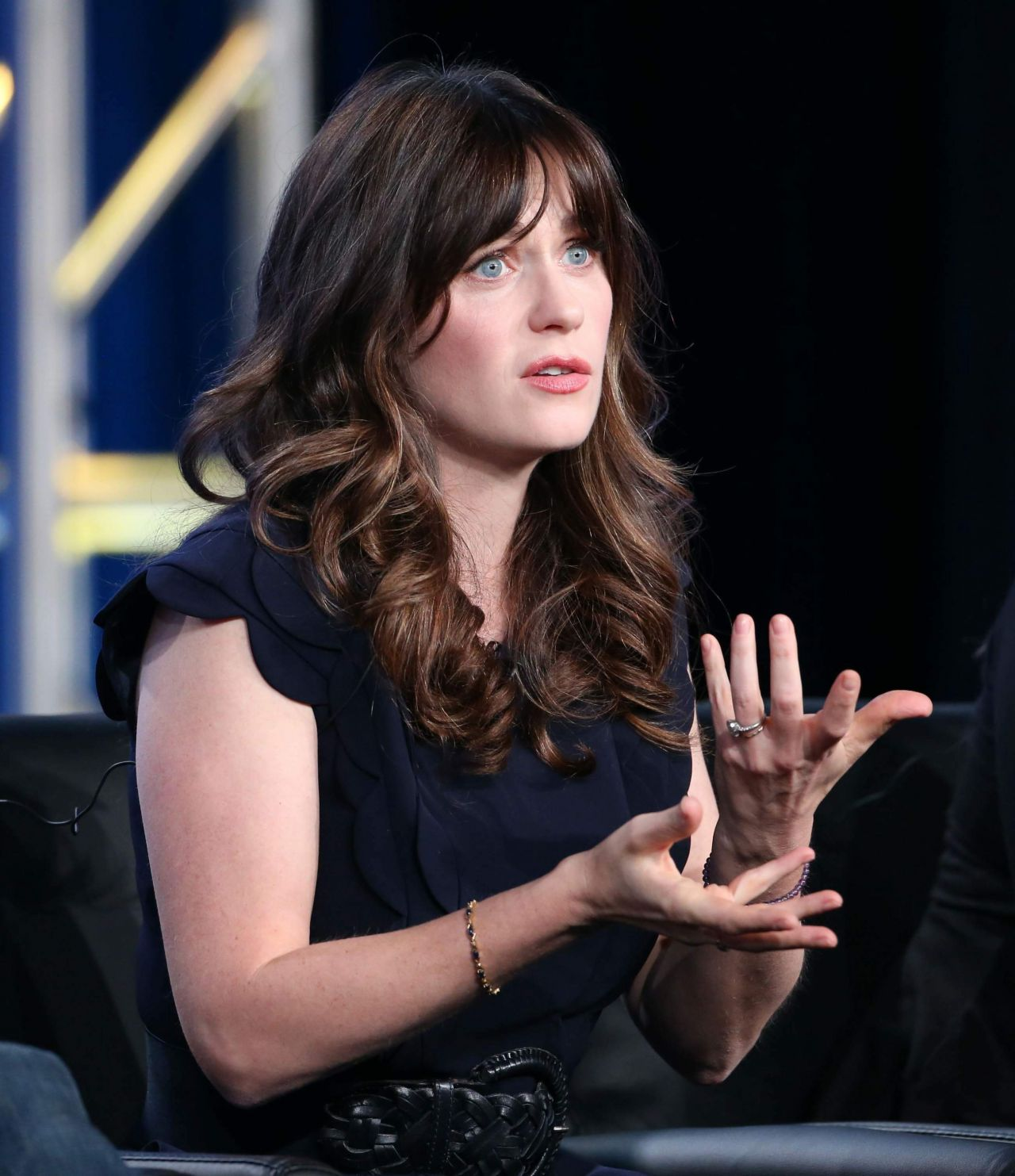 "Zooey Deschanel - ""New Girl"" TV Show Panel at the TCA ..."