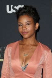 "Aasha Davis – ""Unsolved The Murders of Tupac and The Notorious B.I.G."" TV Show Premiere in LA"