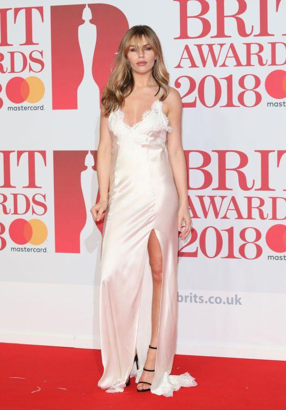 Abbey Clancy – 2018 Brit Awards in London