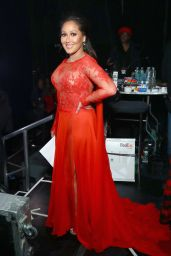 Adrienne Bailon - Go Red For Women Red Dress Collection 2018
