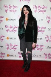 """Adrienne Whitney Papp – """"For The Love Of George"""" Premiere in Los Angeles"""