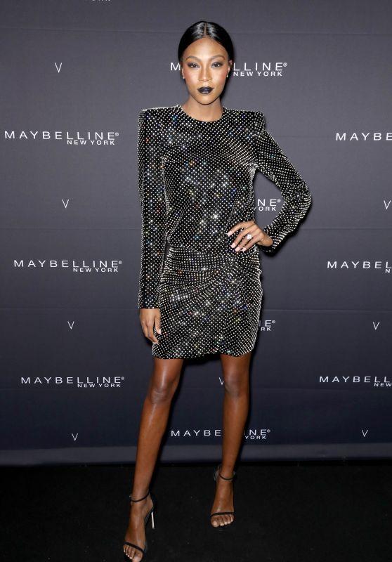 Afiya Bennett – Maybelline New York x V Magazine FW18 Fashion Week Party in NYC