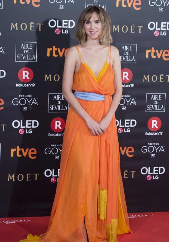Aida Clotet – 2018 Goya Awards in Madrid