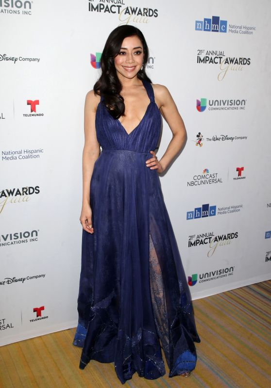 Aimee Garcia – 2018 Impact Awards in Los Angeles