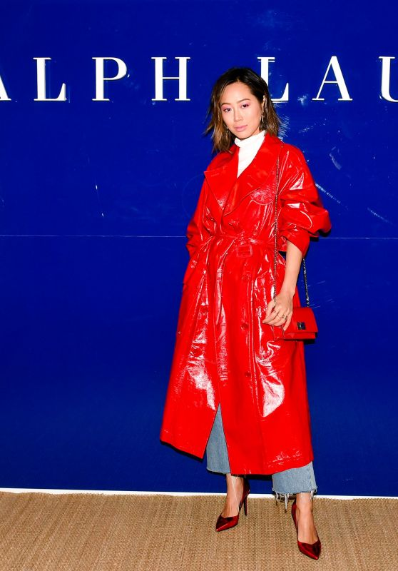 Aimee Song – Ralph Lauren Show FW18 at NYFW