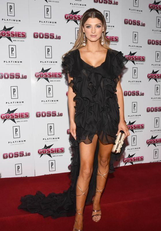 Alannah Beirne – The Gossies 2018 Awards in Dublin