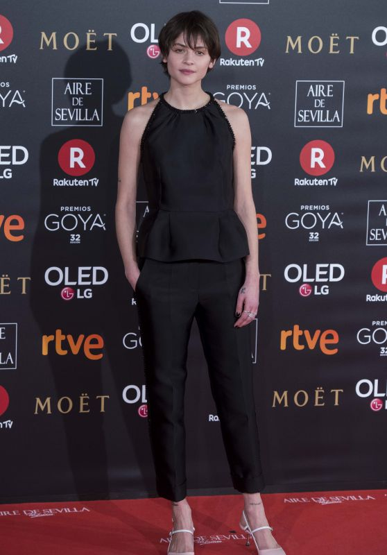 Alba Galocha – 2018 Goya Awards in Madrid