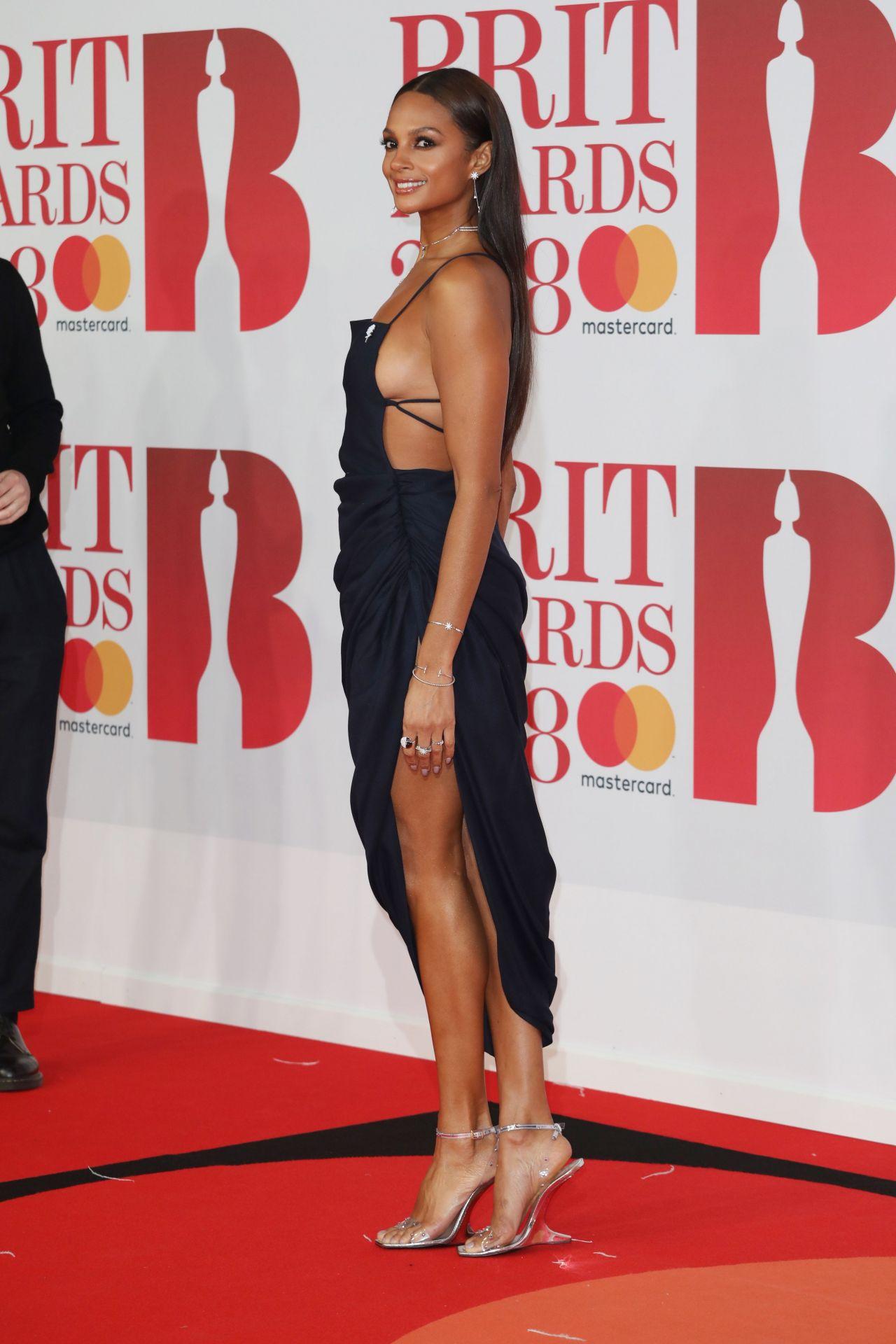 Alesha Dixon 2018 Brit Awards In London