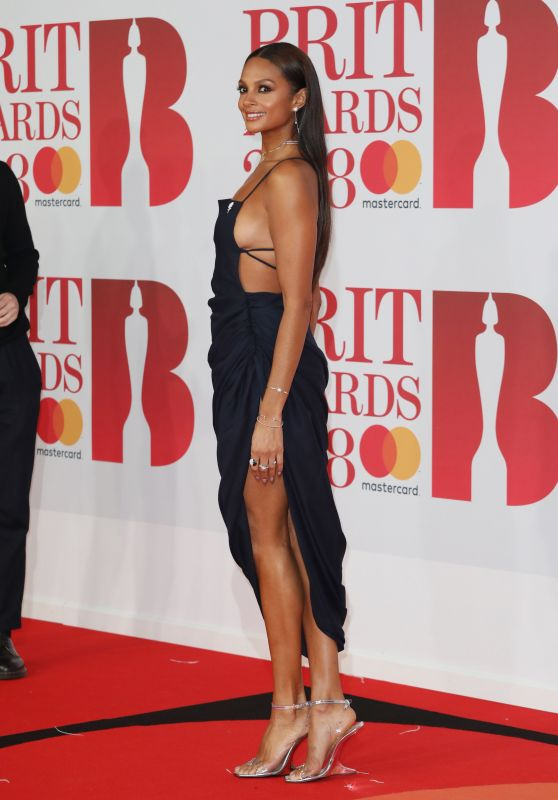 Alesha Dixon – 2018 Brit Awards in London