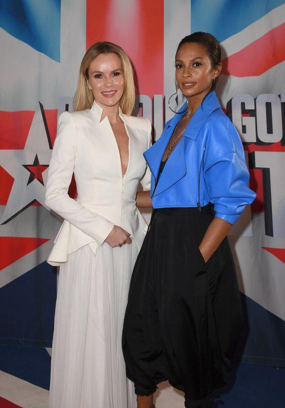Alesha Dixon and Amanda Holden - Britain