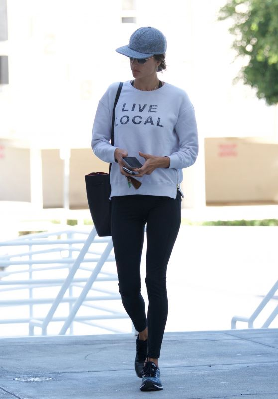 Alessandra Ambrosio - Out in Brentwood 02/24/2018