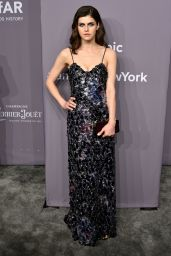 Alexandra Daddario – 2018 amfAR Gala in NYC