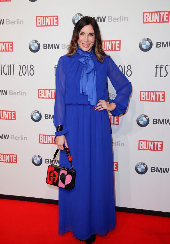 Alexandra Polzin – BUNTE & BMW Host Festival Night, Berlinale 2018
