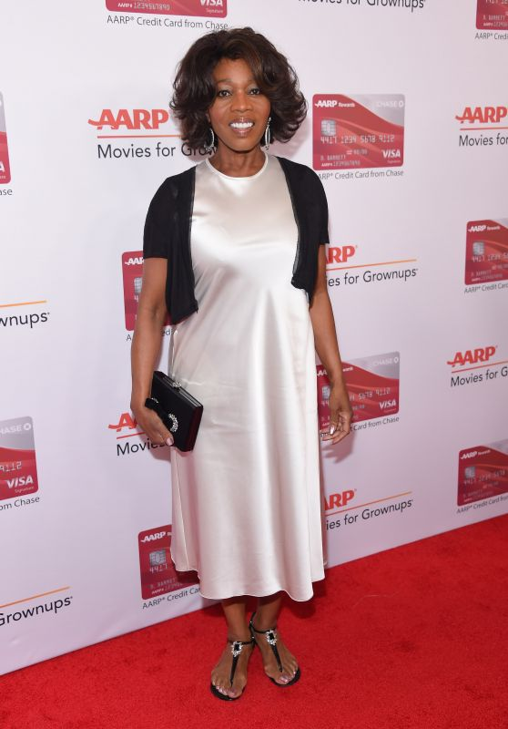 Alfre Woodard – AARP The Magazine's Movies for Grownups Awards in Los Angeles