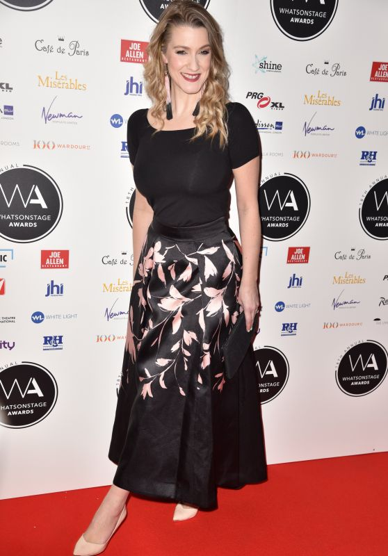 Alice Fearn – 2018 WhatsOnStage Awards in London