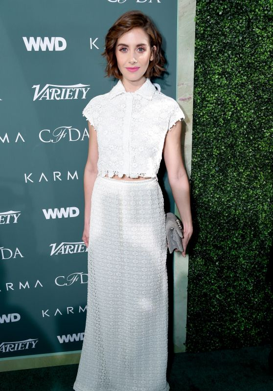 Alison Brie – Variety, WWD and CFDA's Runway to Red Carpet Event in LA