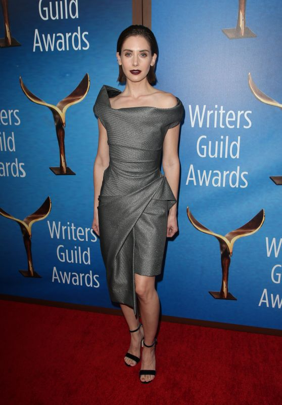 Alison Brie – Writers Guild Awards 2018 Red Carpet
