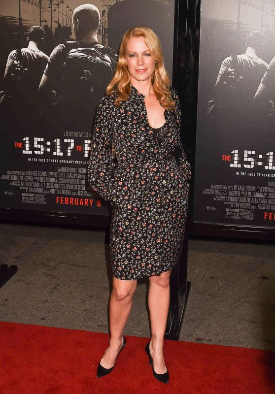"""Alison Eastwood – """"The 15:17 to Paris"""" Premiere in Los Angeles"""