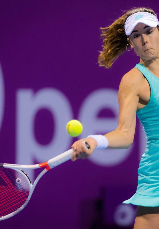 Alize Cornet – 2018 Qatar WTA Total Open in Doha