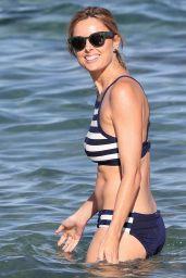 Allison Langdon in Bikini Enjoying a Beach in Sydney