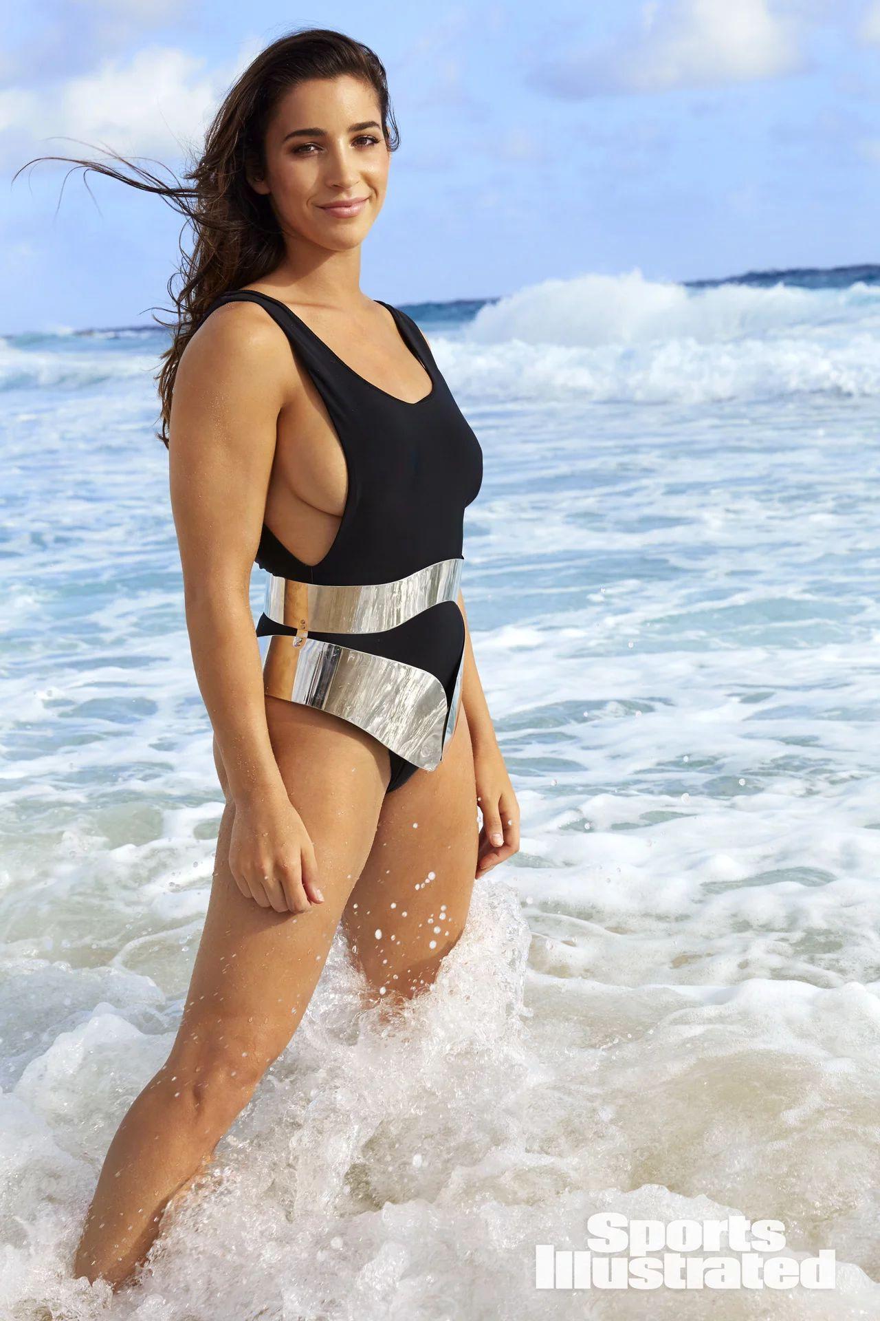 Aly Raisman Si Swimsuit Issue 2018