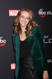 "Amy Acker – ""Agents Of S.H.I.E.L.D."" 100th Episode Party in LA"
